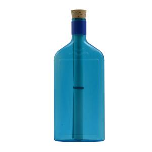 Neutrale blaue Flasche