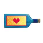 Flaschenpost Herz