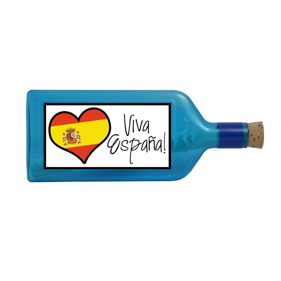 Flaschenpost Viva España!