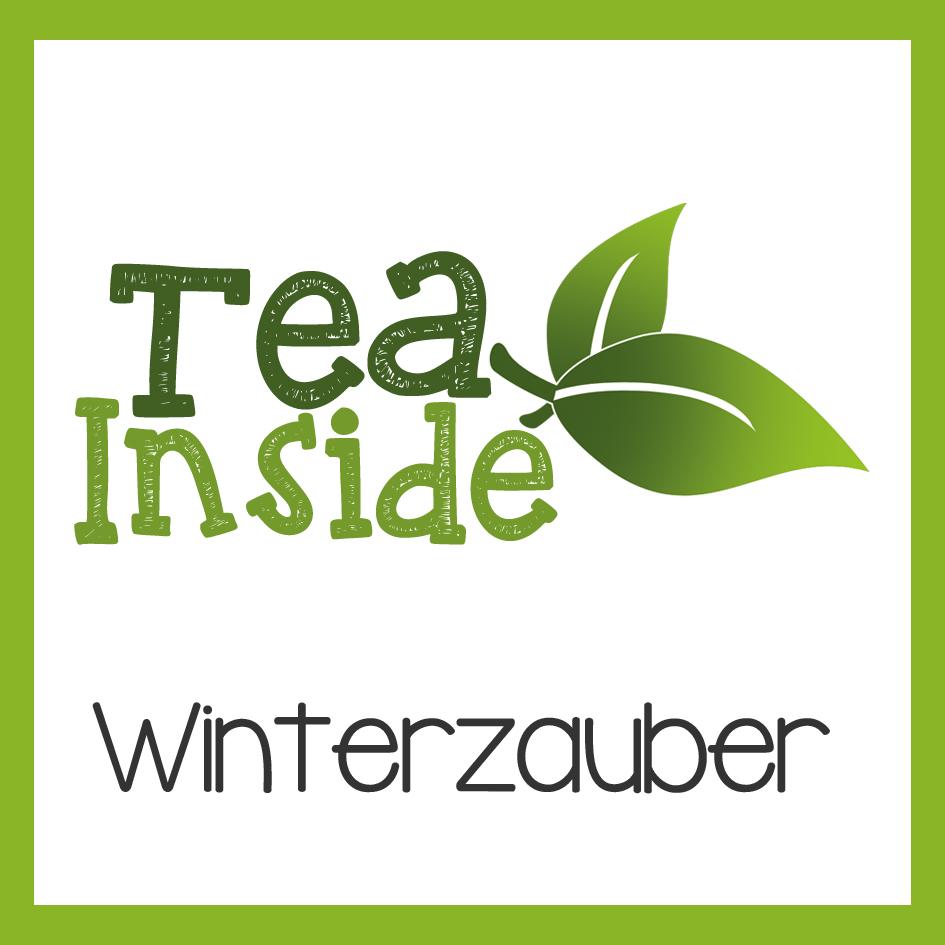 Winterzauber Tee-Mischung in Ihrem Flaschengruss