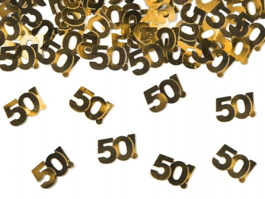 50 Jahre Konfetti als Flascheninhalt