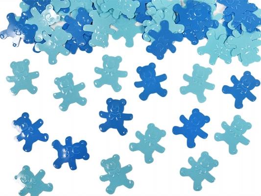 Bären Konfetti Blau & Hellblau
